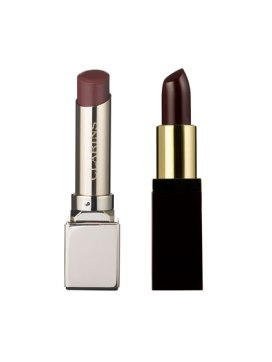 RED LIPSTICK medium skintoneclarins-and-ysl-blackberry-lipstick